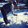 ノッポの雪だるまの正体